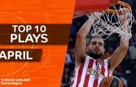Euroleague Nisan ayı En iyi 10 Hareket