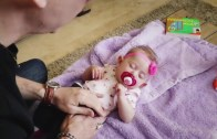 Uyuyan Bebeği İkiye Ayıran Adamdan Akıl Uçuran İllüzyon