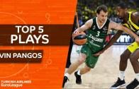 Kevin Pangos En iyi 5 hareket