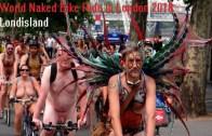 Londra Sokaklarında Çıplak Protesto