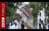 Beyoğlu Sütlüce'de 4 Katlı Bina Çöktü