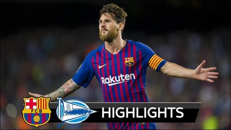 Barcelona Alaves'i 3 Golle Geçti – Barcelona – Alaves Maç Özeti