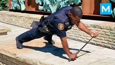Böyle Polis Antrenmanı Görülmedi