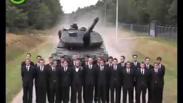 Leopard Tankı Çılgın Fren Testi
