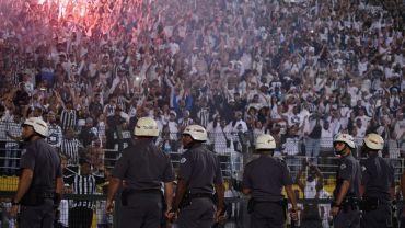 Santos – Independiente Maçında Büyük Kavga