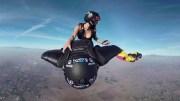 Adrenalin Dolu Çılgın Wingsuit Uçuşu