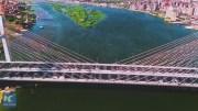 Dünyanın En Geniş Asma Köprüsü İnşa Edildi