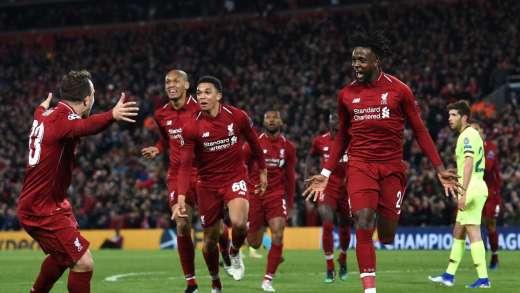 Liverpool Barcelona maçı golleri
