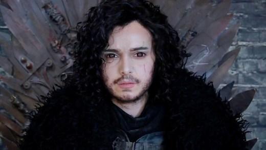 Kendisini Game of Thrones'un efsane karakteri Jon Snow'a dönüştürüyor.İşte makyaj sanatçısı ve Youtuber Stephanie Stokkvik'in Jon Snow hali