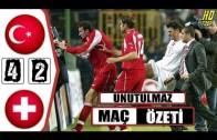 Türkiye 4-2 İsviçre Olaylı Maç Golleri ve Videosu