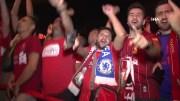 Süper Kupa Finali Öncesi Liverpool Taraftarı İstanbul'da Coştu