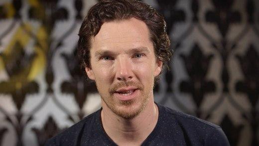 Benedict Cumberbatch ünlüleri taklit ediyor