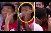 Takım Arkadaşını Önce Tokatlayıp Sonra Öpen Ajaxlı Futbolcu