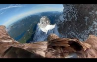 Bir Kartalın Gözünden Eriyen Buzullara Bakıyoruz