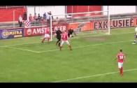 Hollanda'da Hakem Müthiş Tamamladı, Golü Attı