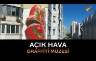 Moskova'daki Binalar Dev Graffitilerle Sanat Eserlerine Dönüştü
