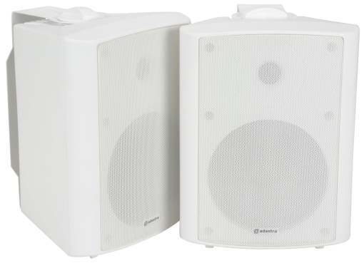 ADASTRA BC6A-W 100 WATTS RMS Active Stereo Speaker Set
