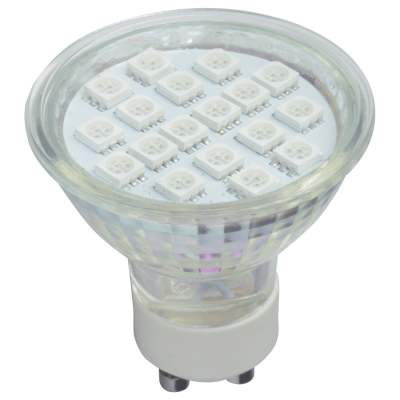 GU10 LED Lamps Red Yellow Blue