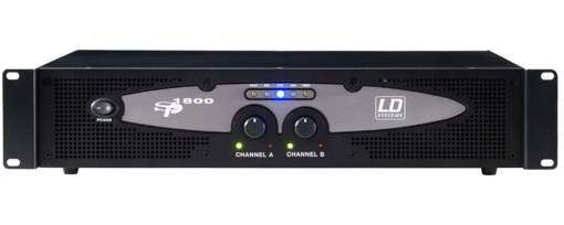 LD Systems SP1800 2700 watts RMS Power Amplifier