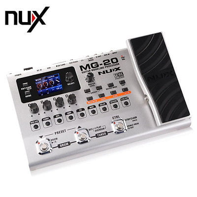 NUX MG-20 Modelling Guitar Effects Processor Pedal