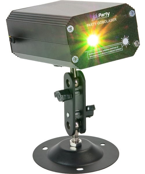 Party Light and Sound PARTY-GOBO LASER
