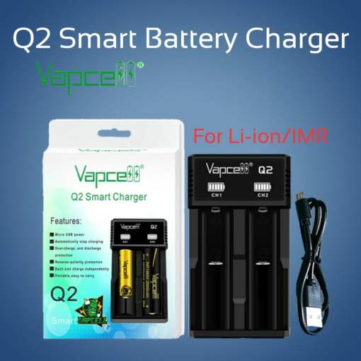 Smart Battery Charger Vapcell Q2