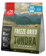 orijen tundra freeze dried food