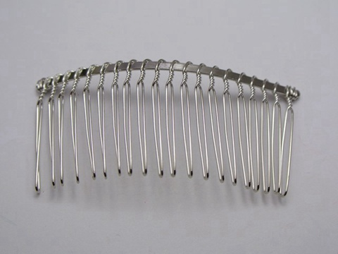 50 silver tone metal hair side bs clips 76x37mm for diy craft ebay