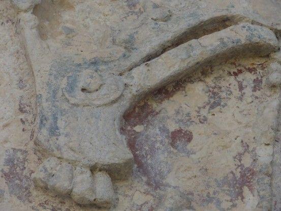Le site Maya de Palenque au Mexique où vous allez découvrir énormément d'inscriptions dans les ruines photos blog voyage tour du monde https://yoytourdumonde.fr