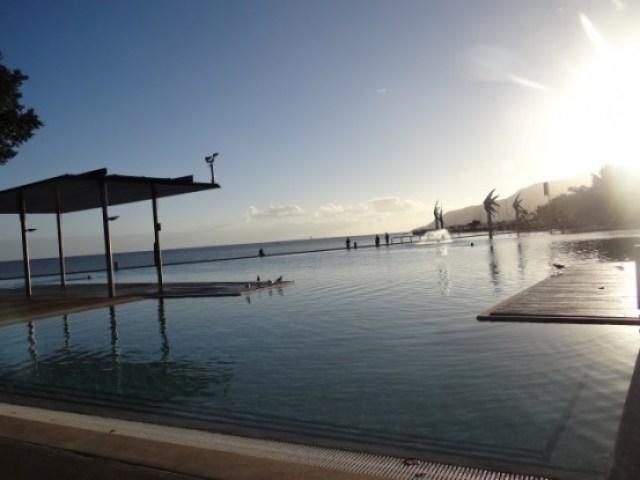 Australie- Cairns: Le lagon de Cairns.