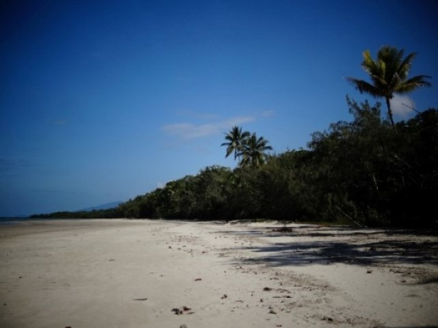 Australie- Cap Tribulation: Notre terrain de boules!