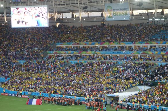Coupe du Monde de Football: France-Equateur au Maracana