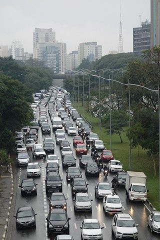 Bresil- Sao Paulo: Jours normal a Sao Paulo: Un enfer pour les transports!!!