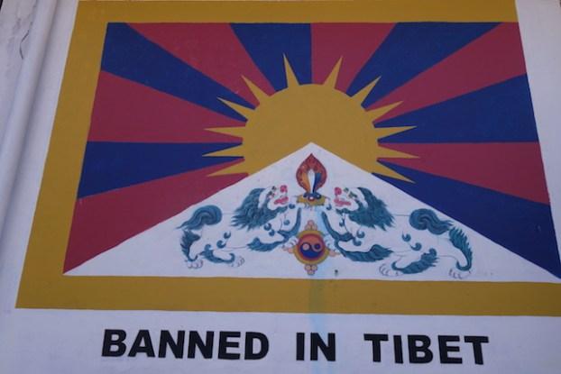 Drapeau tibétain photo blog voyage tour du monde http://yoytourdumonde.fr