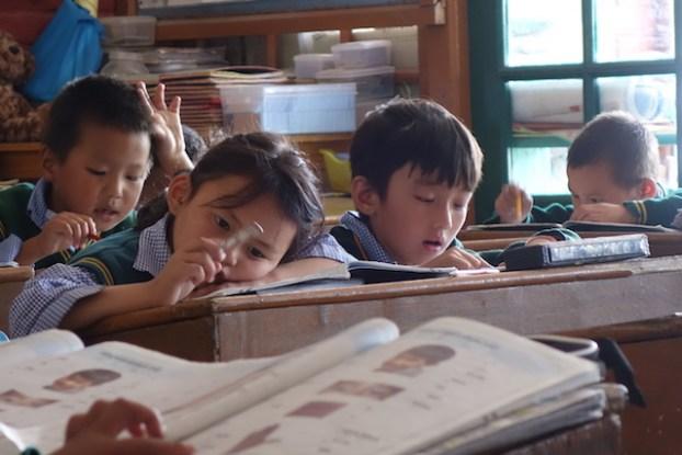 Inde Ecole Tibétaine à Dharamsala photo blog voyage tour du monde http://yoytourdumonde.fr