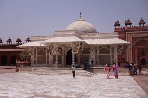 Fatehpur Sikri Mosqué Jama photo blog voyage tour du monde http://yoytourdumonde.fr
