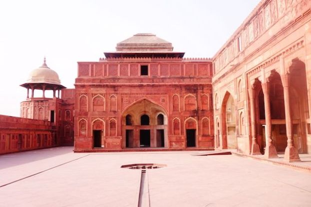 Fort Agra photo blog tour du monde inde http://yoytourdumonde.fr