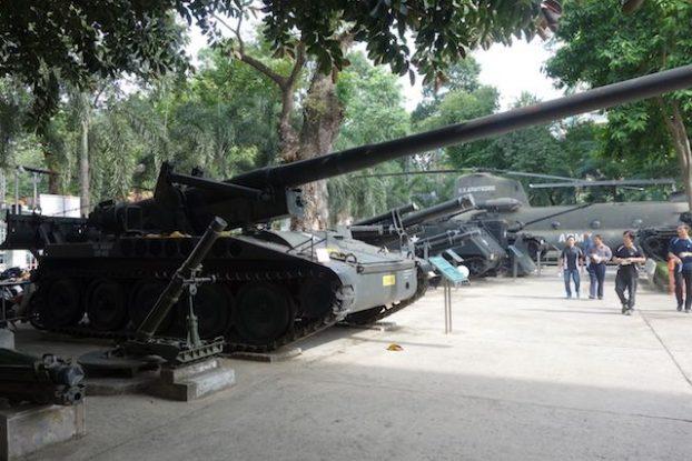 arme lourde musée de la guerre du vietnam- blog yoytourdumonde
