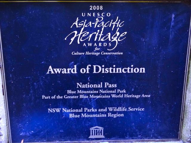 Les Blue Mountains sont inscrit au patrimoine mondial en Australie photo blog voyage tour du monde http://yoytourdumonde.fr