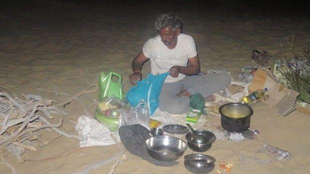Lors du circuit de trois jours et deux nuits dans le desert de thar et selon les agences vous allez manger comme un dieu photo blog voyage tour du monde http://yoytourdumonde.fr