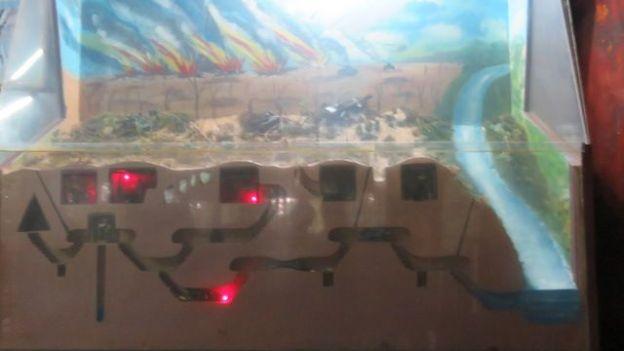 Un plan des tunnels de Cu Chi sur le site http://yoytourdumonde.fr