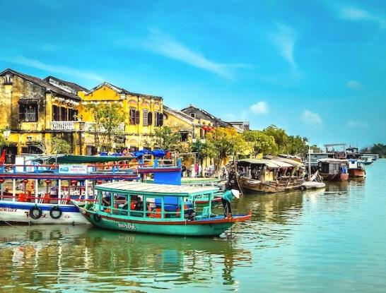 Le centre historique de Hoi An inscrit au patrimoine mondial de l'Unesco avec plus de 800 maisons historiques, photo blog voyage tour du monde htt://yoytourdumonde.fr