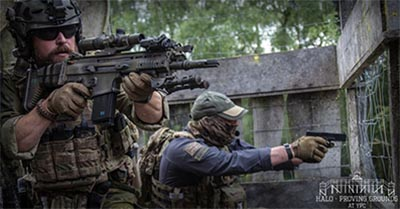 Halo Mill Proving Grounds airsoft at YPC