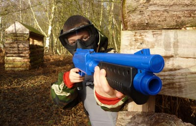 Kids Paintball. What is provided.