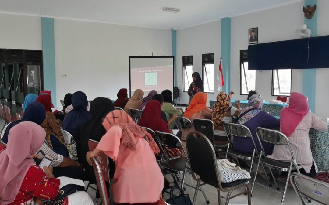 Kegiatan: Sosialisasi Tumbuh Kembang di Kec. Mulyorejo