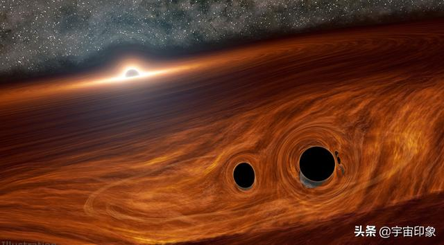 Two black holes merged in 12.8 billion light years! Flashes lasting a few seconds alert scientists