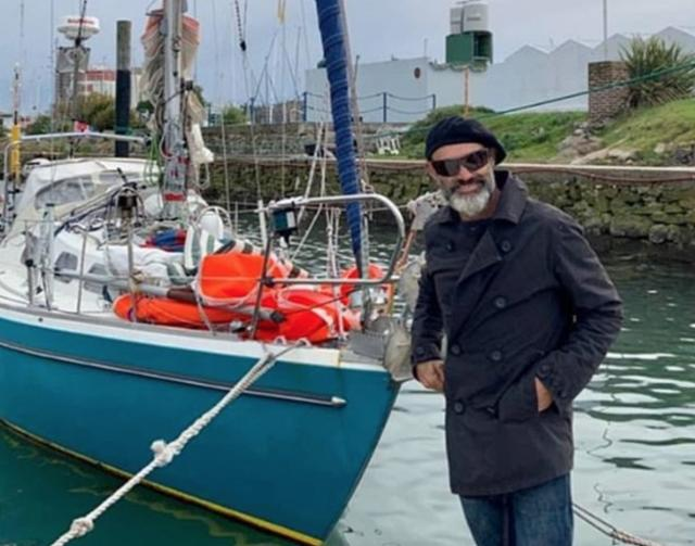 Argentinian man trapped in Europe due to epidemic, sailing across the Atlantic for three months to visit his parents