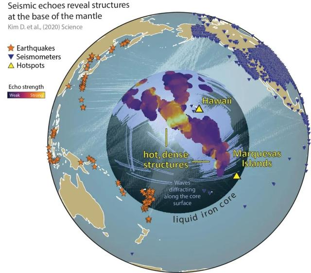 Scientists discovered large mysterious and unknown areas inside the earth