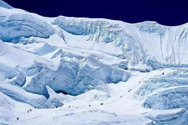 Glacier may hold a record of the COVID-19 pandemic