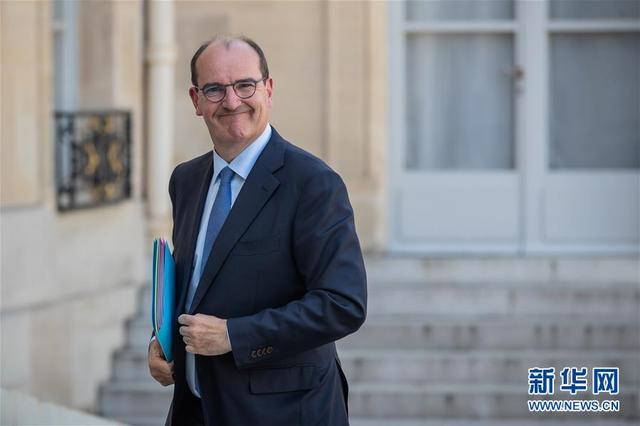 French new government members unveiled